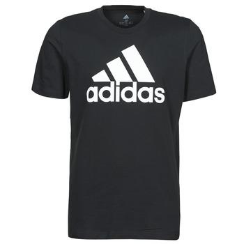 Ruhák Férfi Rövid ujjú pólók adidas Performance M BL SJ T Fekete
