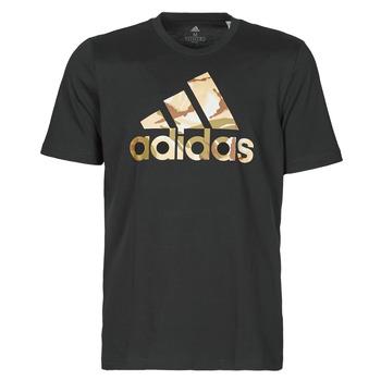 Ruhák Férfi Rövid ujjú pólók adidas Performance M CAMO T Fekete
