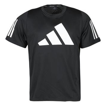 Ruhák Férfi Rövid ujjú pólók adidas Performance FL 3 BAR TEE Fekete