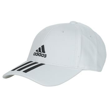 Textil kiegészítők Baseball sapkák adidas Performance BBALL 3S CAP CT Fehér