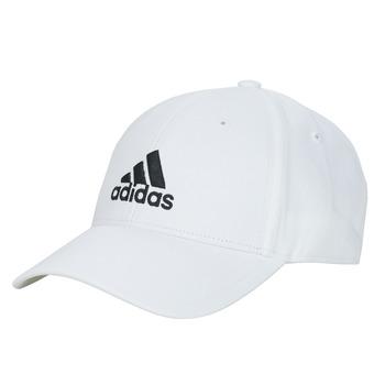 Textil kiegészítők Baseball sapkák adidas Performance BBALL CAP COT Fehér