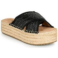 Cipők Női Papucsok Refresh TERRA Fekete