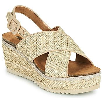 Cipők Női Szandálok / Saruk Refresh AMELA Bézs
