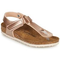 Cipők Lány Lábujjközös papucsok Birkenstock KAIRO HL Rózsaszín