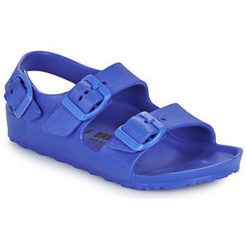 Cipők Fiú Szandálok / Saruk Birkenstock MILANO EVA Kék