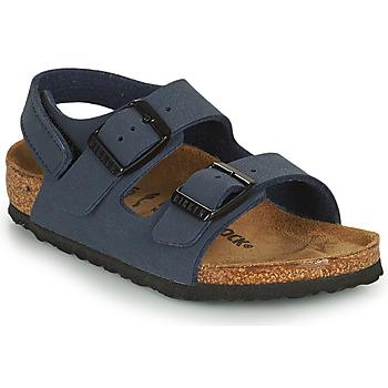 Cipők Fiú Szandálok / Saruk Birkenstock MILANO HL Kék