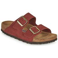 Cipők Női Papucsok Birkenstock ARIZONA SFB Piros