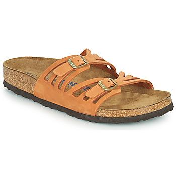 Cipők Női Papucsok Birkenstock GRANADA SFB Narancssárga
