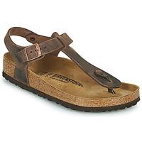 Cipők Női Lábujjközös papucsok Birkenstock KAIRO Barna