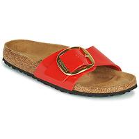 Cipők Női Papucsok Birkenstock MADRID BIG BUCKLE Piros