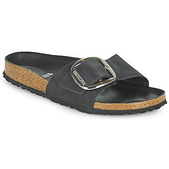 Cipők Női Papucsok Birkenstock MADRID BIG BUCKLE Fekete