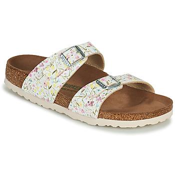 Cipők Női Papucsok Birkenstock SYDNEY Fehér