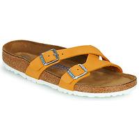 Cipők Női Papucsok Birkenstock YAO BALANCE SFB Narancssárga