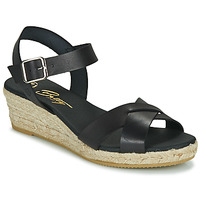 Cipők Női Szandálok / Saruk Betty London GIORGIA Fekete