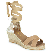 Cipők Női Szandálok / Saruk Betty London IDILE Bézs