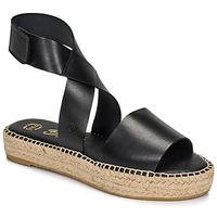 Cipők Női Szandálok / Saruk Betty London EBALUIE Fekete