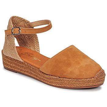 Cipők Női Szandálok / Saruk Betty London ANTALA Konyak