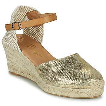 Cipők Női Szandálok / Saruk Betty London CASSIA Arany
