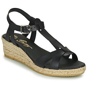 Cipők Női Szandálok / Saruk Betty London OBORSEL Fekete