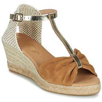 Cipők Női Szandálok / Saruk Betty London OREINOA Teve