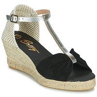 Cipők Női Szandálok / Saruk Betty London OREINOA Fekete