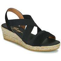 Cipők Női Szandálok / Saruk Betty London OLINDR Fekete
