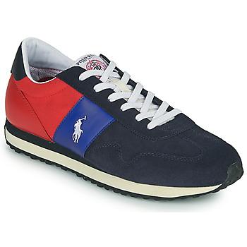 Cipők Férfi Rövid szárú edzőcipők Polo Ralph Lauren TRAIN 85-SNEAKERS-ATHLETIC SHOE Tengerész / Piros