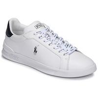 Cipők Rövid szárú edzőcipők Polo Ralph Lauren HRT CT II-SNEAKERS-ATHLETIC SHOE Fehér / Tengerész