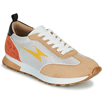 Cipők Női Rövid szárú edzőcipők Vanessa Wu BK2268BG Bézs / Citromsárga / Narancssárga