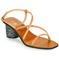 Cipők Női Szandálok / Saruk Vanessa Wu SD2226SM Narancssárga
