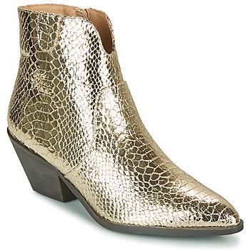 Cipők Női Bokacsizmák Vanessa Wu MINNA Arany