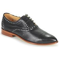 Cipők Női Oxford cipők Melvin & Hamilton JESSY 61 Fekete