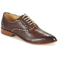 Cipők Női Oxford cipők Melvin & Hamilton JESSY 61 Barna