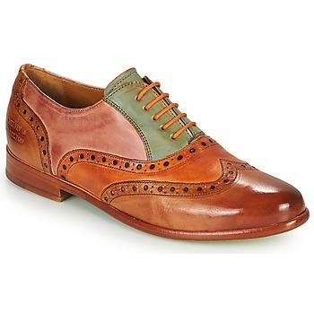 Cipők Női Oxford cipők Melvin & Hamilton SELINA 24 Barna