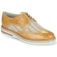 Cipők Női Oxford cipők Melvin & Hamilton AMELIE 3 Citromsárga