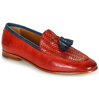 Cipők Női Mokkaszínek Melvin & Hamilton SCARLETT 44 Piros