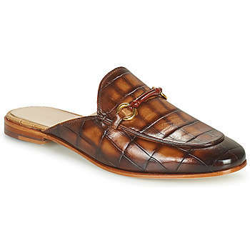 Cipők Női Papucsok Melvin & Hamilton SCARLETT 4 Barna