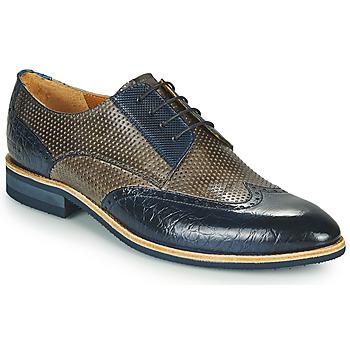 Cipők Férfi Oxford cipők Melvin & Hamilton BOBBY 1 Szürke / Kék