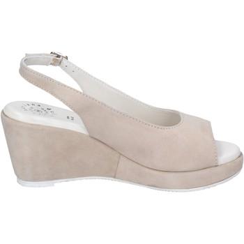 Cipők Női Szandálok / Saruk Adriana Del Nista Sandali Camoscio Beige