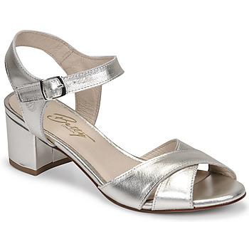 Cipők Női Szandálok / Saruk Betty London OSKAIDI Ezüst