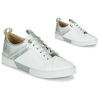 Cipők Lány Rövid szárú edzőcipők JB Martin GELATO Fehér / Ezüst