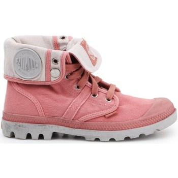 Cipők Női Oxford cipők & Bokacipők Palladium Manufacture Pallabrouse Baggy Rózsaszín