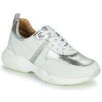Cipők Női Rövid szárú edzőcipők JB Martin WILO Fehér / Ezüst