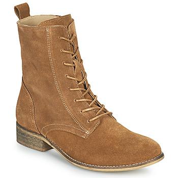 Cipők Női Csizmák Betty London ORYPE Konyak