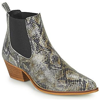 Cipők Női Csizmák Betty London OGEMMI Tópszínű