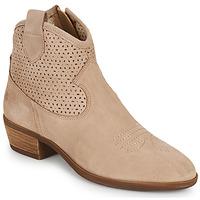 Cipők Női Csizmák Betty London OGEMMA Bézs