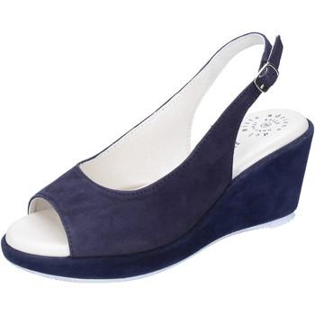 Cipők Női Szandálok / Saruk Adriana Del Nista Sandali Camoscio Blu