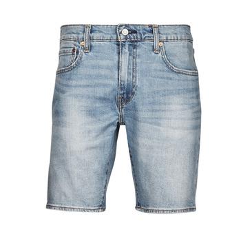 Ruhák Férfi Rövidnadrágok Levi's 411 Slim Short Kék