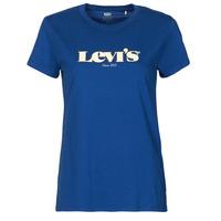 Ruhák Női Rövid ujjú pólók Levi's THE PERFECT TEE Kék