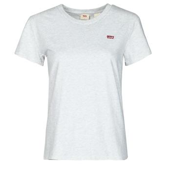 Ruhák Női Rövid ujjú pólók Levi's PERFECT TEE Szürke
